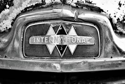 Pucker Up -  International Truck Emblem B by John Myers