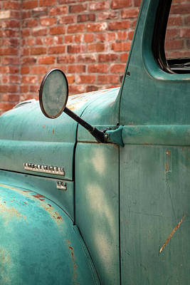 Photograph - International Truck Side View by Heidi Hermes