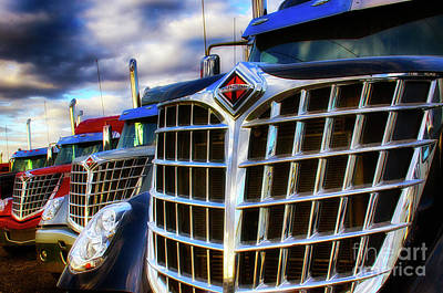 Photograph - International Trucks 1 by Bob Christopher
