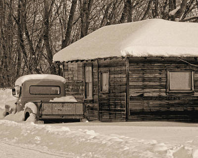Photograph - International Winter Sepia by David King