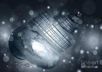 Digital Art - Interplanetary Snail by Melissa Messick