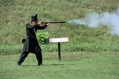 Photograph - Interpreter with Brunswick Rifle by Valerie Kirkwood