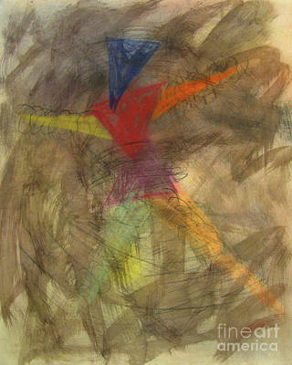 Mixed Media - Interpretive Dance by Peter Piatt