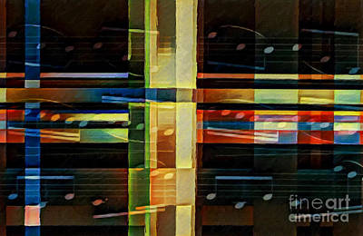 Digital Art - Intersecting Interlude 1 by Lon Chaffin
