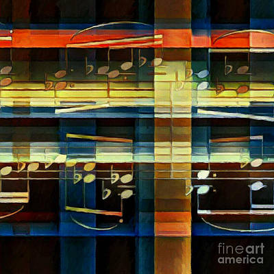 Digital Art - Intersecting Interlude 2 by Lon Chaffin