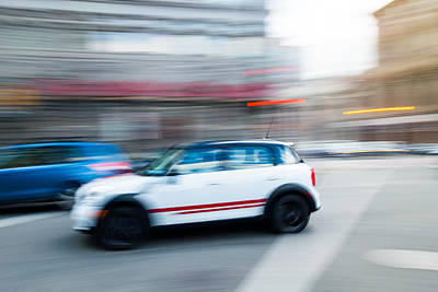 Photograph - Intersection Traffic by Steven Green
