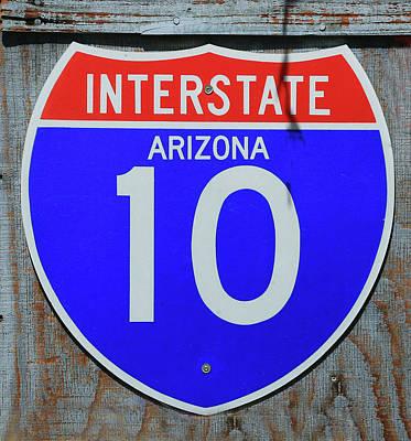 Photograph - Interstate Arizona 10 by Allen Beatty