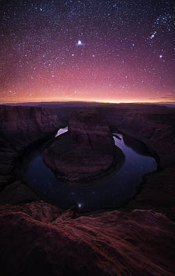 Photograph - Interstellar Reflection // Horseshoe Bend // Arizona  by Nicholas Parker