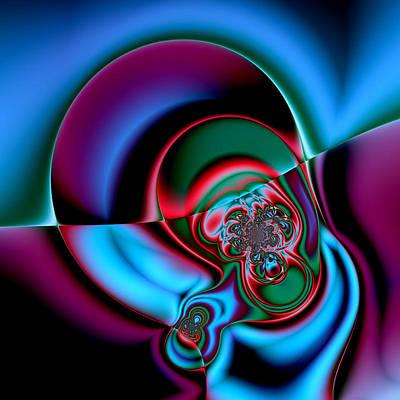 Painting - Interstellar Ear by Peter Ludwig Wegener
