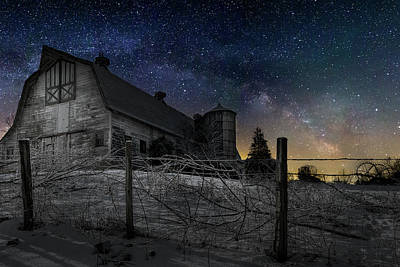 Art Print featuring the photograph Interstellar Farm by Bill Wakeley