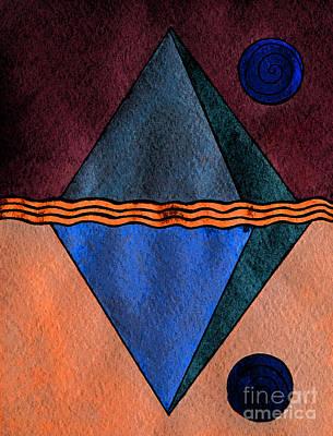 Intergalactic Space Painting - Interstellar Geometry by Norma Appleton