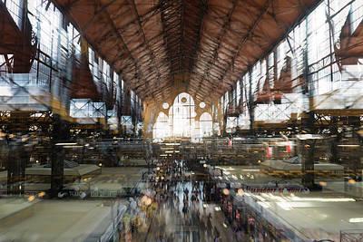 Photograph - Interstellar Transit Hall by Alex Lapidus