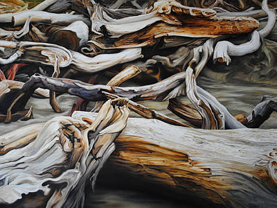 Painting - Intertwined by Chris Steinken
