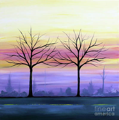 Painting - Intertwined by Stacey Zimmerman