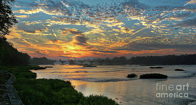 Photograph - Interurban Sunrise 4193 by Jack Schultz