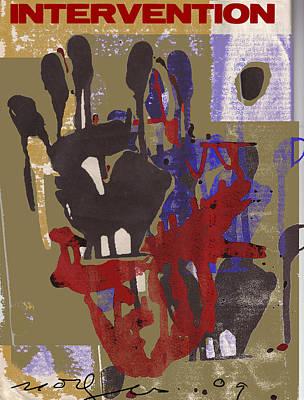 Intervention Art Print by Noredin Morgan