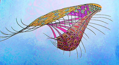 Interweave Of Consciousness Art Print by Sheree Kennedy