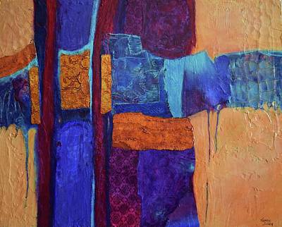 Painting - Interwoven by Nancy Jolley