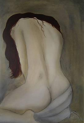 Intimacy Art Print by Bridgette  Allan