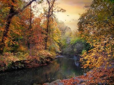 Intimate Autumn Art Print by Jessica Jenney