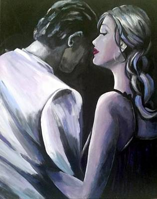 Painting - Intimate Moments by Rosie Sherman
