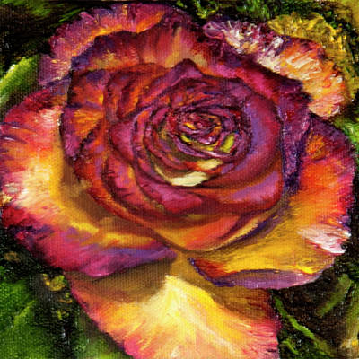 Painting - Intimate Rose by Terry R MacDonald