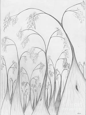 Drawing - Into Boranup Forest by Leonie Higgins Noone
