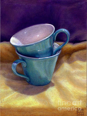 Into Cups Art Print by Jane Bucci