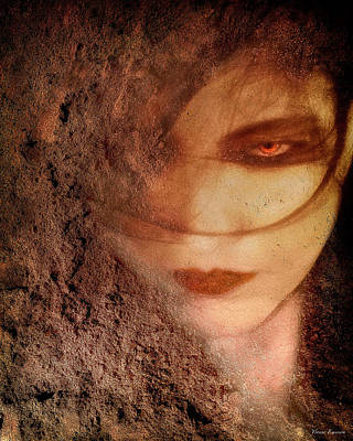 Into Dust Art Print by Yvonne Emerson AKA RavenSoul