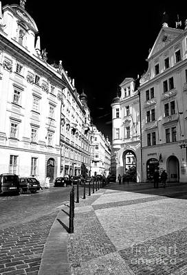 Photograph - Into Prague Old Town Square by John Rizzuto
