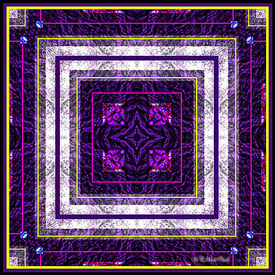 Into Purple Art Print by Barbara MacPhail