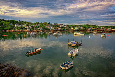 Penobscot Bay Photograph - Into Stonington Harbor by Rick Berk