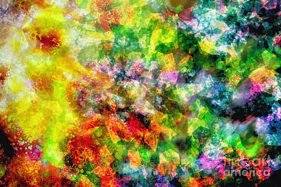 Fashion Paintings Rights Managed Images - Into the Arms of Grace Royalty-Free Image by Davy Cheng