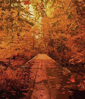 Painting - Into The Autumn by Andrea Mazzocchetti
