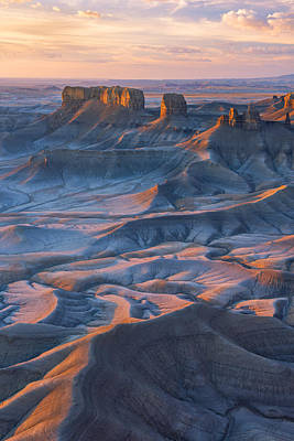 Photograph - Into The Badlands by Dustin  LeFevre