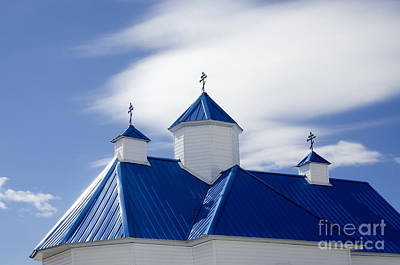 Blue Roof Photograph - Into The Blue 3 by Bob Christopher