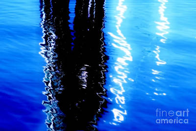 Photograph - Into The Blue by Danuta Bennett
