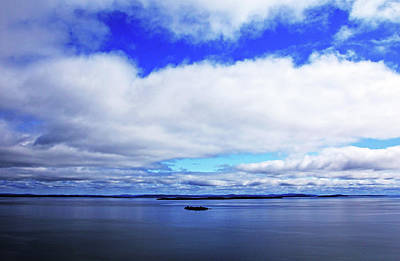 Photograph - Into The Blue by Debbie Oppermann