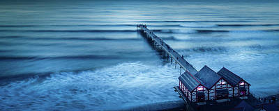 Incline Digital Art - Into The Blue by Richard Sayer