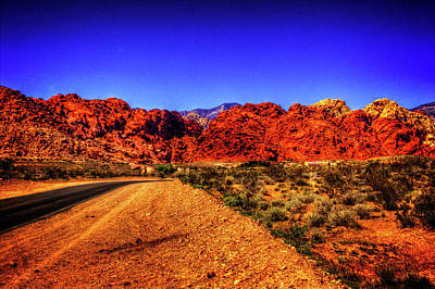 Photograph - Into The Calico Basin Early Morning by Roger Passman