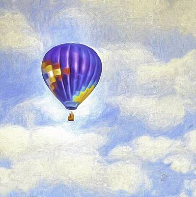 Photograph - Into The Clouds by TK Goforth