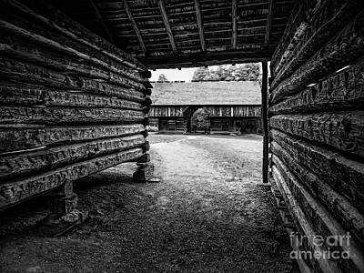 Digital Art - Into The Dogtrot Barn by Elijah Knight