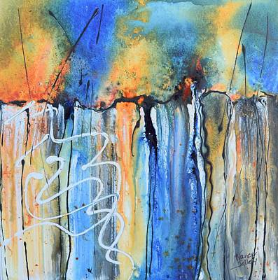 Painting - Into The Earth by Nancy Jolley