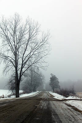 Photograph - Into The Fog by Cathy Beharriell