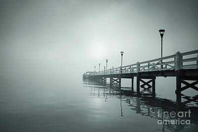 Photograph - Into The Fog by Evelina Kremsdorf