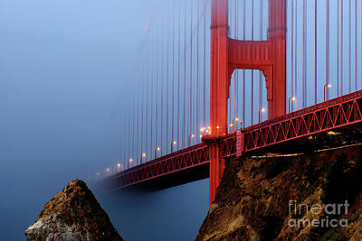 Into The Fog Art Print by Joseph Greco