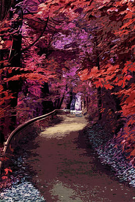Painting - Into The Forest Of Dreams by Andrea Mazzocchetti
