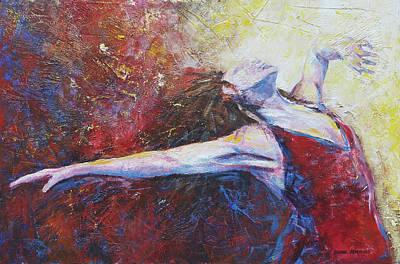 Painting - Into The Light by David Maynard