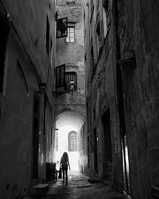 Into The Light, Florence, Italy Art Print by Richard Goodrich