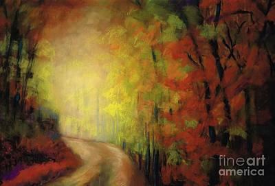 Into The Light Art Print by Frances Marino